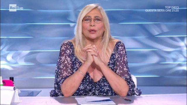 Domenica In diretta 13 settembre - Ospiti Romina Power, Loretta Goggi, Anna Tatangelo, Claudio Amendola e Mika