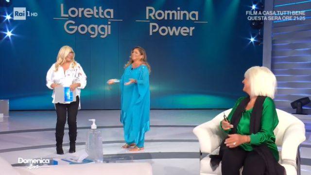 Inizia la diretta di Domenica In con Romina Power e Loretta Goggi