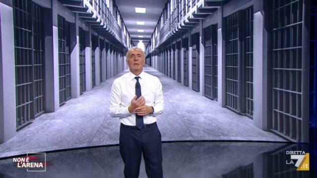 Non è l'Arena diretta 27 settembre 2020 - Massimo Giletti parla delle scarcerazioni dei mafiosi