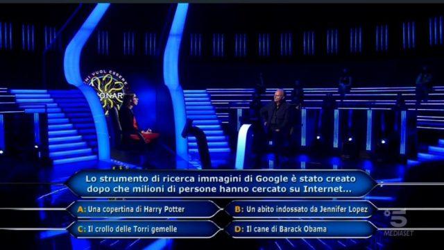 Chi vuol essere milionario diretta 10 settembre - Antonella Alemani risponde all'ottava domanda