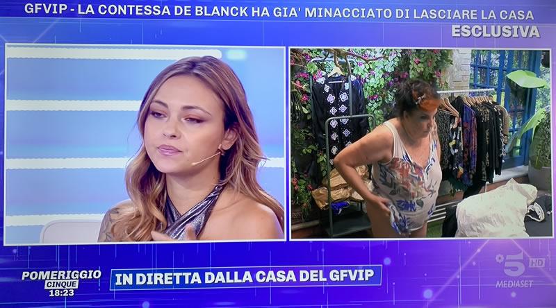 Patrizia De Blanck nuda GF