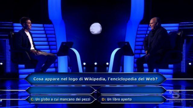 Chi vuol essere milionario diretta 10 settembre - Federico Lombardi alla quinta domanda