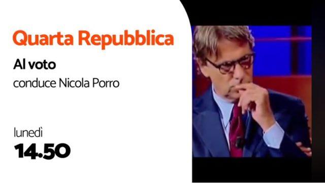 Edizioni e Referendum 2020 - Lo speciale di rete 4 con Nicola Porro