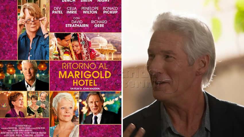 Ritorno al Marigold Hotel film Rai 2