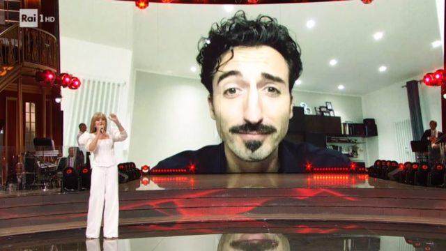 Samuel Peron in collegamento video