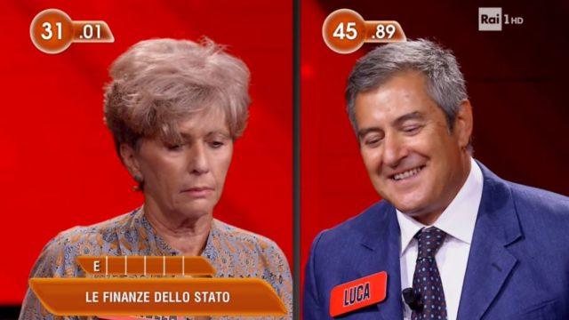 Luca perde la sfida contro Serenella