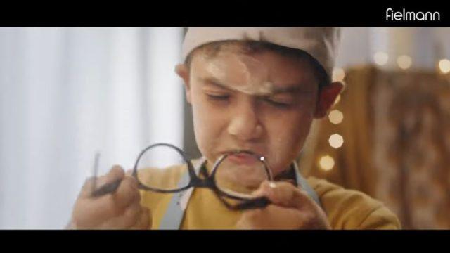 Il video della pubblicità degli occhiali Fielmann con Alessandro Borghese
