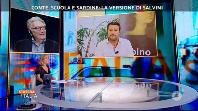 Stasera Italia diretta 14 settembre studio