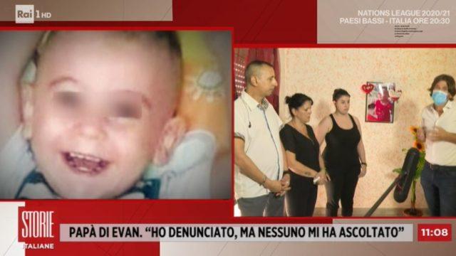 Il caso del bambino siciliano Evan ucciso dopo le percosse
