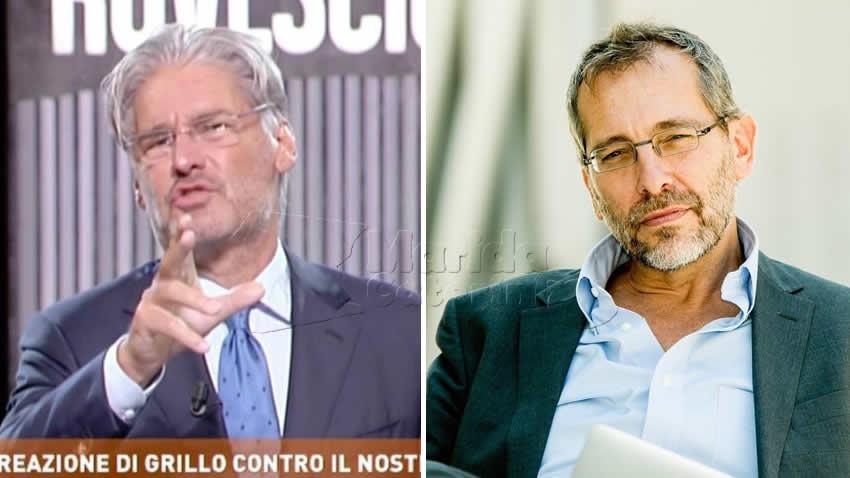 Talk 1 ottobre Piazzapulita e Dritto e Rovescio