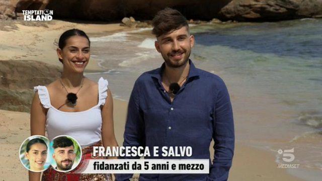 Temptation Island 8 diretta 30 settembre francesca e salvo