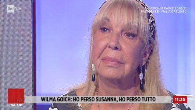 Wilma Goich racconta a Storie italiane la morte della figlia Susanna
