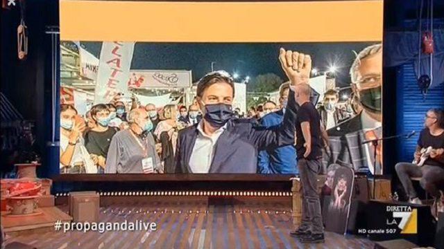 propaganda live diretta 11 settembre conte