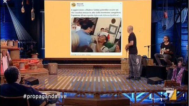 propaganda live salvini