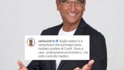 Carlo Conti positivo Covid