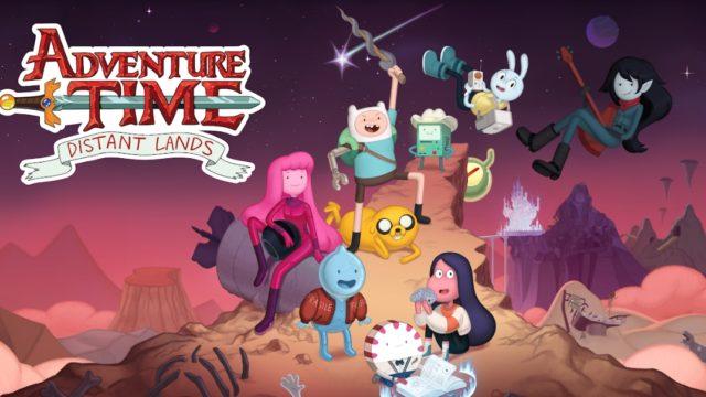 Adventure Time distant land cast