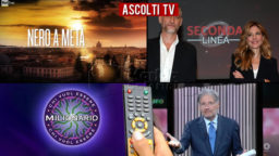 Ascolti TV giovedì 1 ottobre 2020