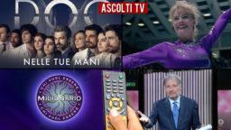 Ascolti TV giovedì 22 ottobre 2020