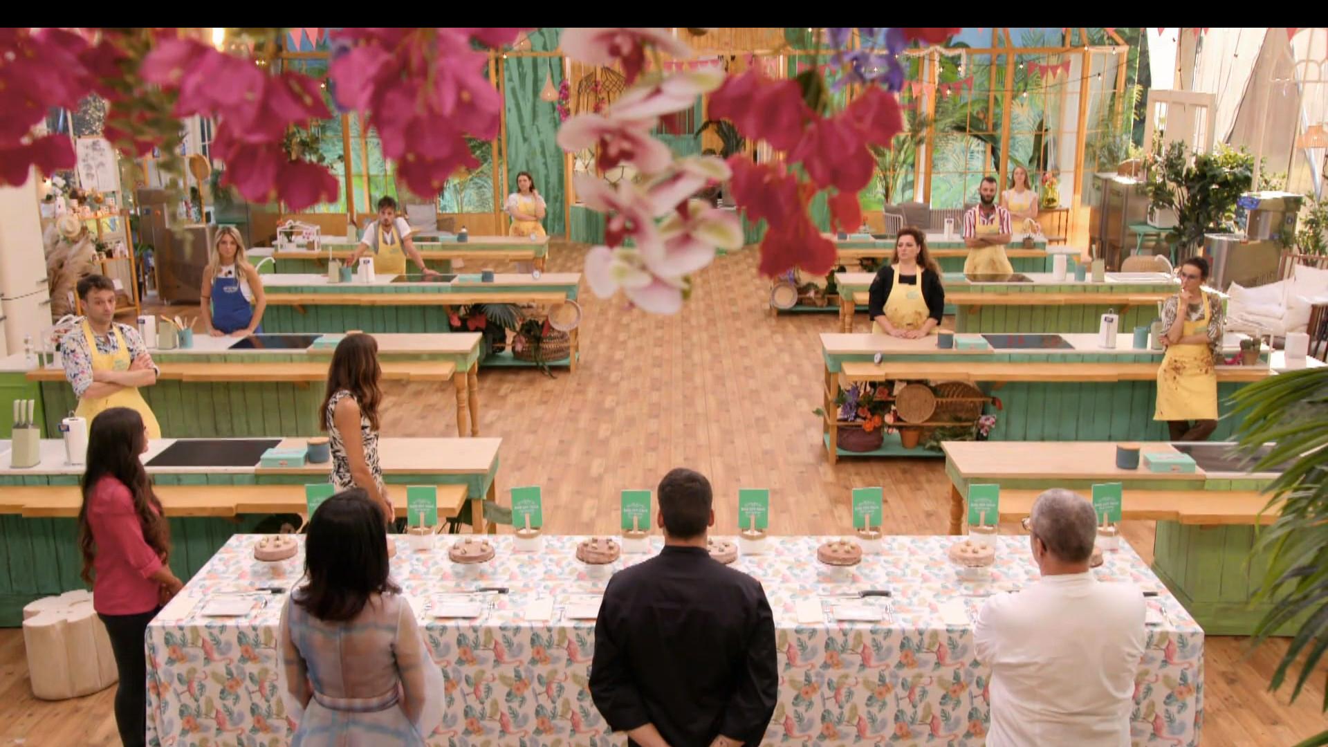 Bake Off Italia ottava puntata