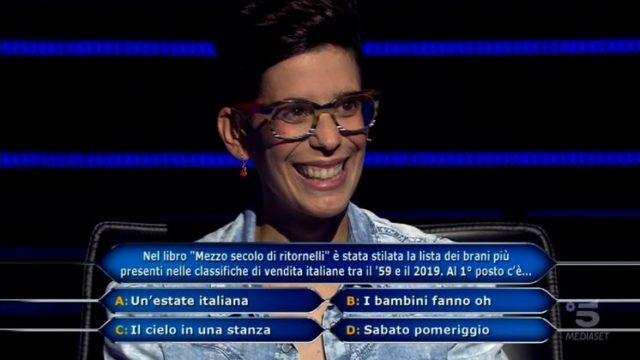 Chi vuol essere milionario 15 ottobre, diretta - La quattordicesima domanda da 300mila euro