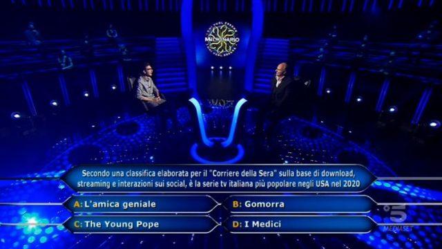 Chris Caraccioli, la domanda da 70mila euro