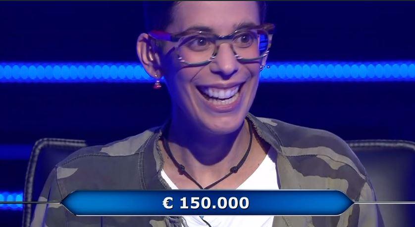 Chi vuol essere milionario 8 ottobre, domande, concorrente Sara Ricciardo