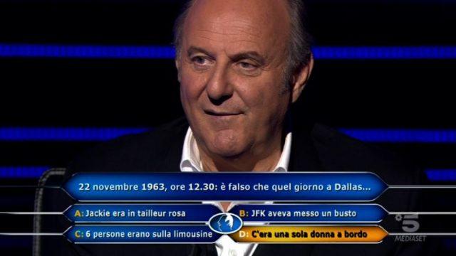 Chi vuol essere milionario 8 ottobre diretta- Gerry Scotti risponde alla domanda