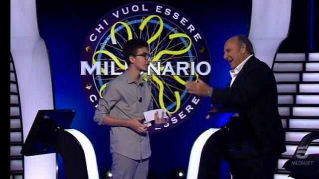 Chi vuol essere milionario 22 ottobre, diretta - Chris Caraccioli lascia il gioco con 30mila euro