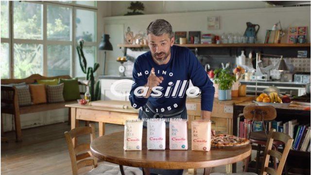 Spot in TV Molino Casillo, Luca Argentero testimonial
