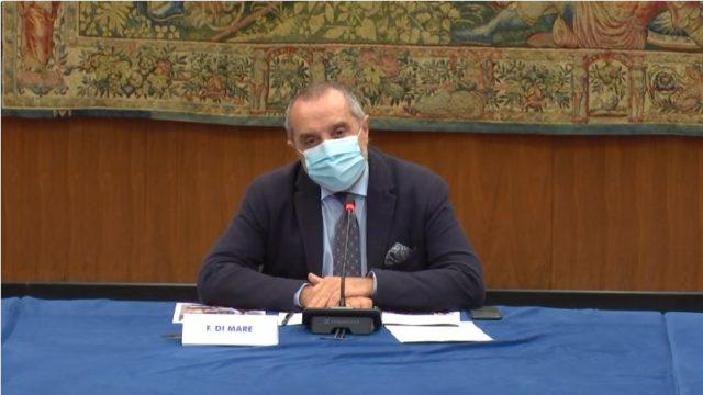 Titolo V, parlano in conferenza stampa i conduttori Francesca Romana Elisei e Roberto Vicaretti