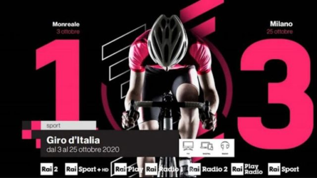 Giro d'Italia 2020 in tv - Dirette e programmi sui canali Rai