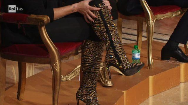 Ballando con le Stelle - Gli stivali di Roberta Bruzzone