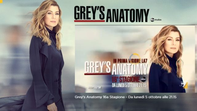 Grey's Anatomy 16 La7