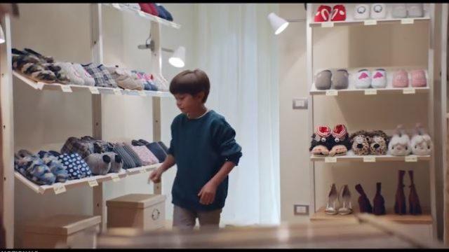 Spot in Tv De Fonseca - Il bambino nella stanza delle scarpe
