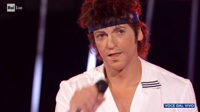 Pago imita Bruce Springsteen
