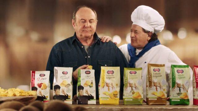 Il video della pubblicità Pata con Gerry Scotti zappatore