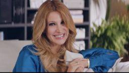 Spot in TV De Fonseca, pubblicità, Adriana Volpe, pantofole