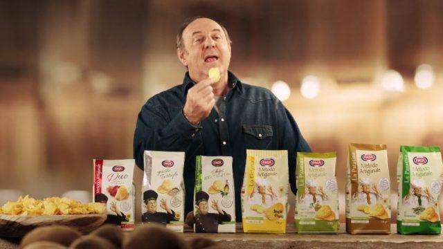 Spot in Tv Pata, Gerry Scotti testimonial delle patatine