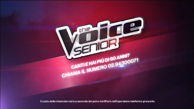 Come partecipare ai provini di The Voice Senior