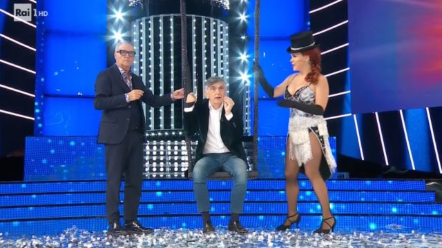 Vincenzo Salemme, Giorgio Panariello e Carolina Rey
