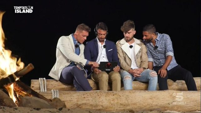 temptation island 8 diretta 7 ottobre falò maschile