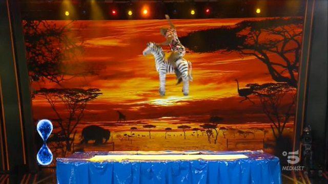 tu si que vales diretta 10 ottobre zebra