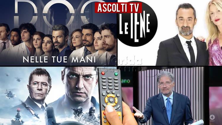 Ascolti TV giovedì 19 novembre 2020