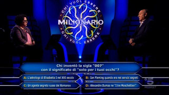 Chi vuol essere milionario 5 novembre 2020 - La tredicesima domanda di Ilaria Sambinello