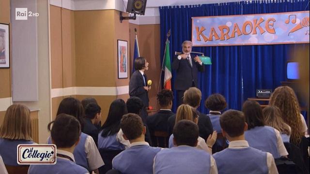 Il collegio 5 diretta 10 novembre karaoke