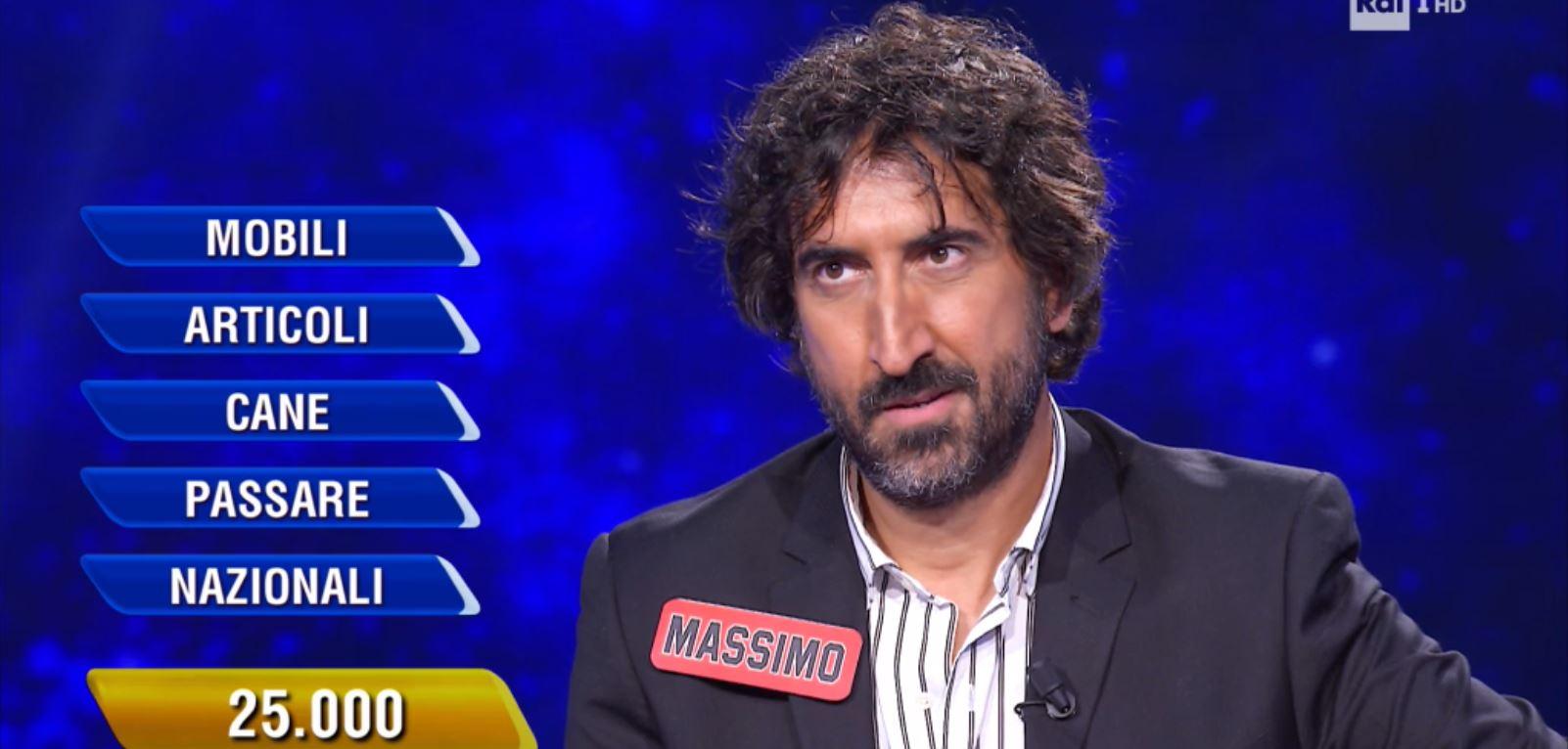 L'Eredità Massimo Cannoletta quanto ha vinto