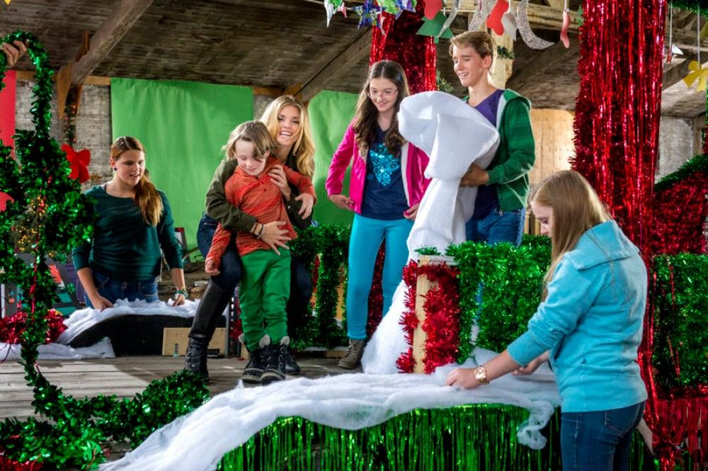 La parata del Natale film attori