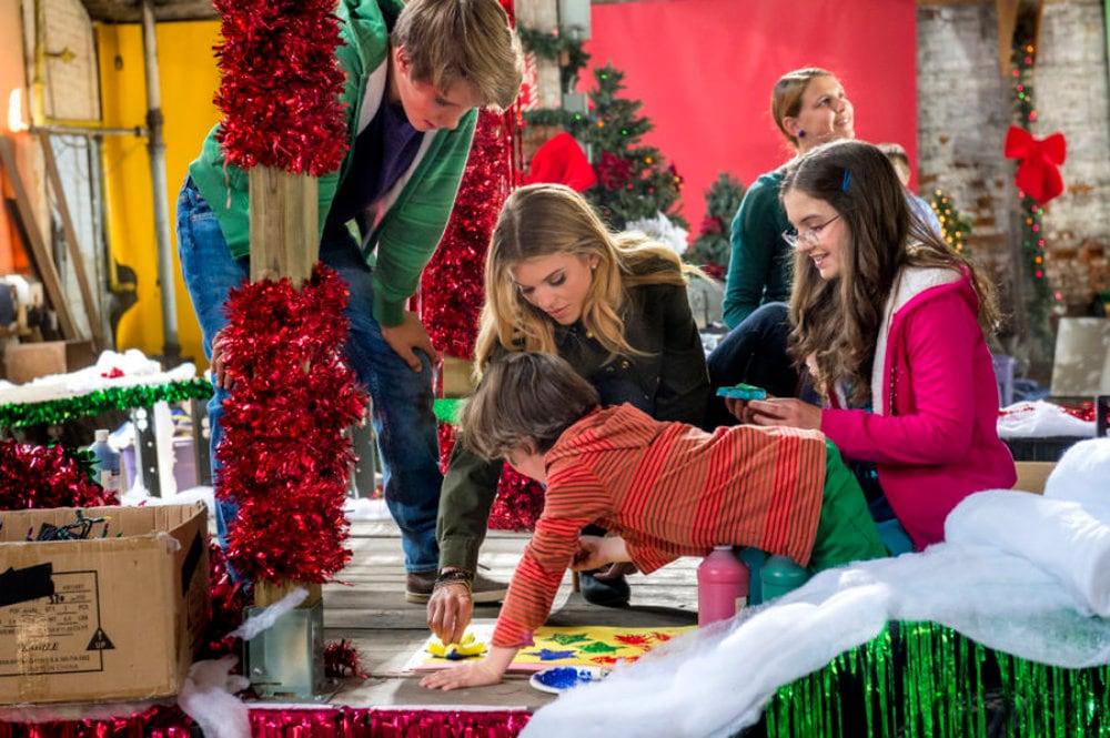 La parata del Natale film dove è girato