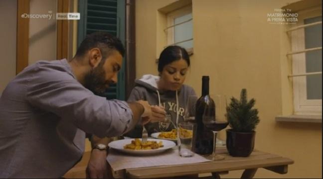 Matrimonio a prima vista Italia 5 diretta 3 novembre pranzo