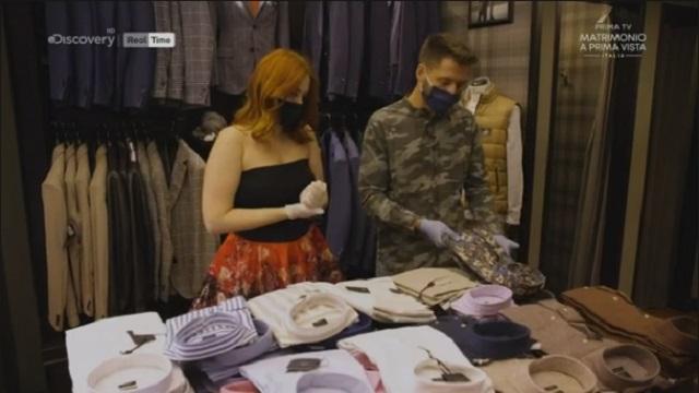 Matrimonio a prima vista Italia 5 diretta 3 novembre shopping